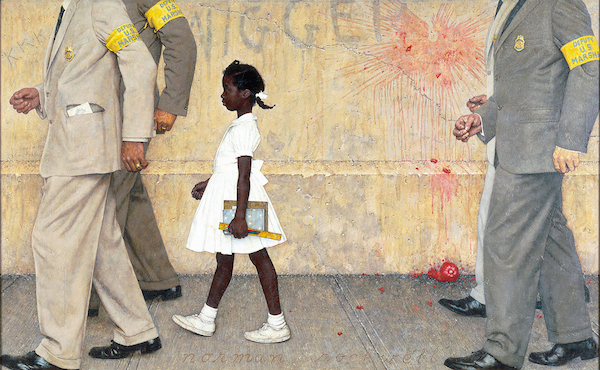 Norman Rockwell's painting: The Problem We All Live With