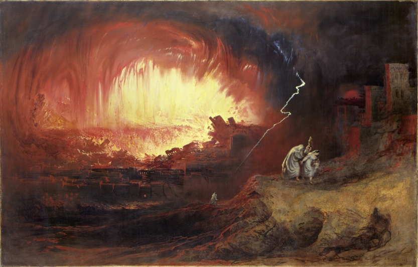 Creative Destruction - John Martin, Destruction of Sodom and Gomorrah (1852)