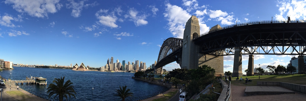 The less than indigenous Sydney Harbour Bridge