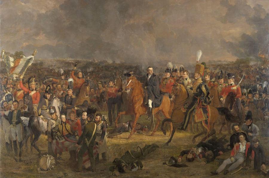 The Battle of Waterloo (1824)